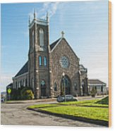 The Church Of Saint Patrick Wood Print