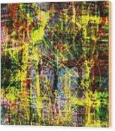 The City 9b Wood Print