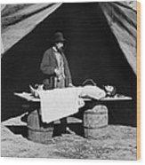 The Civil War, Embalming Surgeon Wood Print