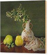 The Classical Urn Wood Print
