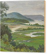 The Clearwater Passing Boscobel Wood Print