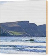 The Cliffs Of Western Eire Wood Print