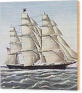 The Clipper Ship Flying Cloud Wood Print