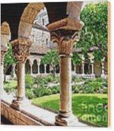 The Cloisters Wood Print