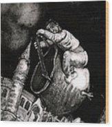 The Coal Scuttle Rider Wood Print
