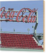 The Coca-cola Corner Wood Print