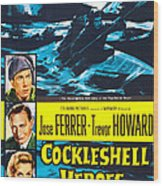 The Cockleshell Heroes, Us Poster, Left Wood Print