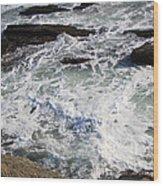 The Cold Atlantic 1 Wood Print