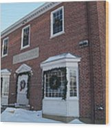 The Cold Spring Harbor Firehouse Wood Print