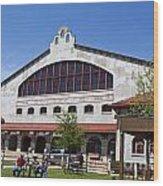 The Coliseum Fort Worth Texas Wood Print