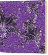 The Color Purple Wood Print