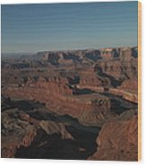 The Colorado River At Dead Horse State Park Wood Print