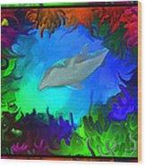 The Colorful Sea Wood Print