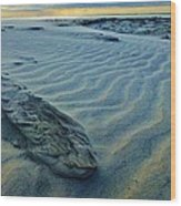 The Colors Of Sand Wood Print