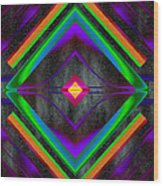The Colors Of Space Wood Print