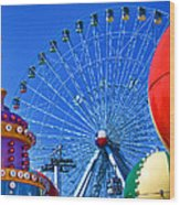 The Colors Of The State Fair Of Texas Wood Print