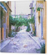 The Colors Of The Streets Wood Print