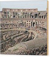 The Colosseum Wood Print