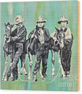 The Colt Whisperers Wood Print