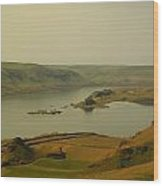 The Columbia River From Maryhill Wood Print