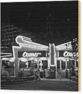 The Comet Roller Coaster - St Louis 1950 Wood Print