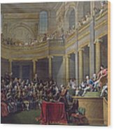 The Committee Of Lyon, 26th January 1802, 1808 Oil On Canvas Wood Print