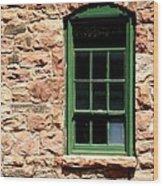 The Comondant Lived Here Wood Print by Joe Kozlowski