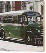 The Connemara Bus Wood Print