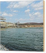The Conowingo Dam Wood Print