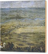 The Conquest Of Lleida Wood Print