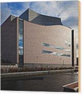 The Convention Centre Dublin , Dublin Wood Print