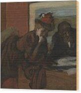 The Conversation, 1885-95 Wood Print