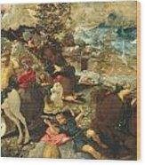 The Conversion Of Saint Paul Wood Print