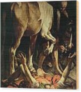 The Conversion Of St. Paul Wood Print
