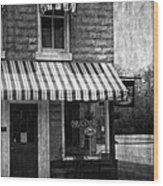 The Corner Deli Wood Print