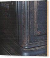 The Corner Stove Wood Print