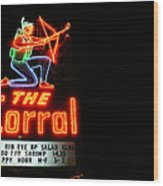The Corral Wood Print