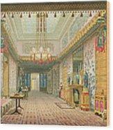 The Corridor Or Long Gallery Wood Print