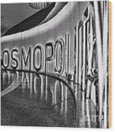The Cosmopolitan Hotel Las Vegas By Diana Sainz Wood Print
