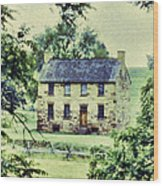 The Cottage Wood Print