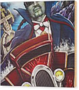 The Count Cool Rider Wood Print