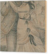 The Country Dance Wood Print