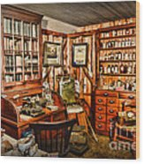 The Country Doctor Wood Print