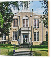 The Courthouse Wood Print