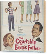 The Courtship Of Eddie's Father Wood Print