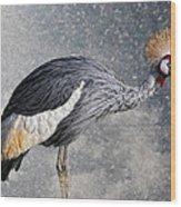 The Crane Wood Print