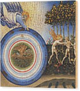 The Creation Of The World And The Expulsion From Paradise Wood Print