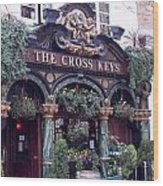The Cross Keys Wood Print