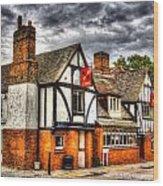 The Cross Keys Pub Dagenham Wood Print