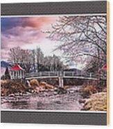 The Crossing II Brenton Woods Nh Wood Print